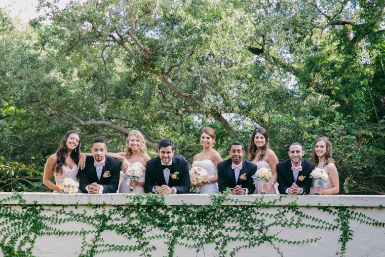 Elegant Blush Garden Wedding via TheELD.com