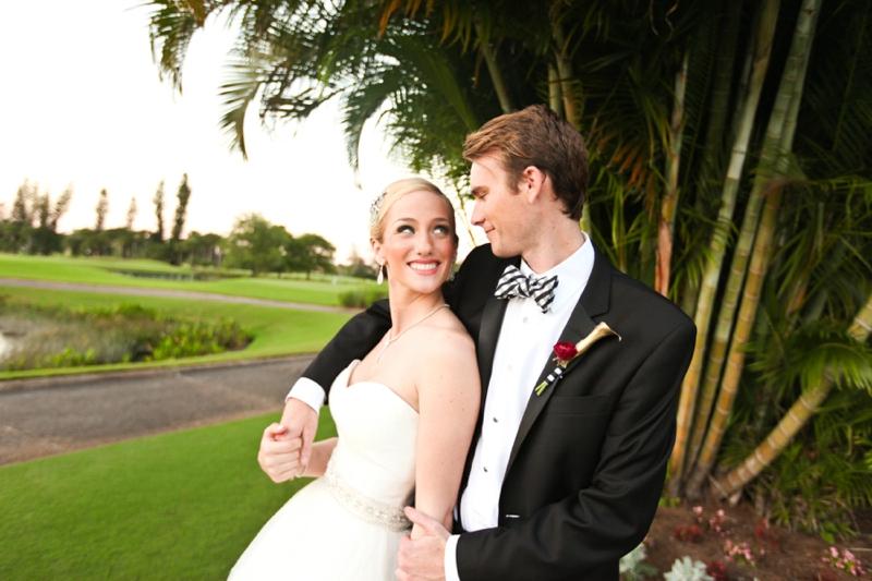 Modern Pink and Black Wedding Ideas via TheELD.com