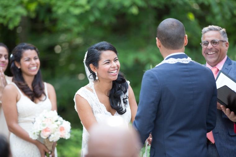 Rustic & Modern Maine Wedding via TheELD.com