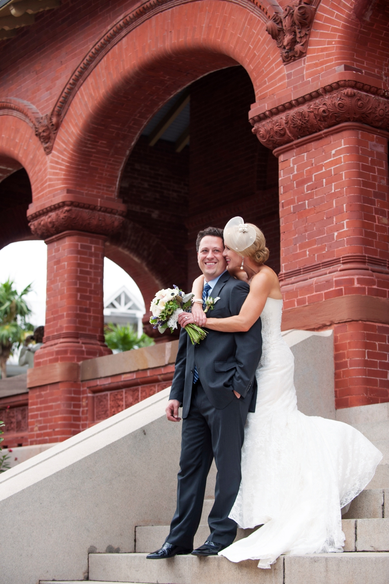 An Eclectic Key West Wedding via TheELD.com