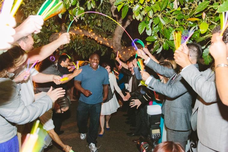 An Eclectic & Whimsical Garden Wedding via TheELD.com