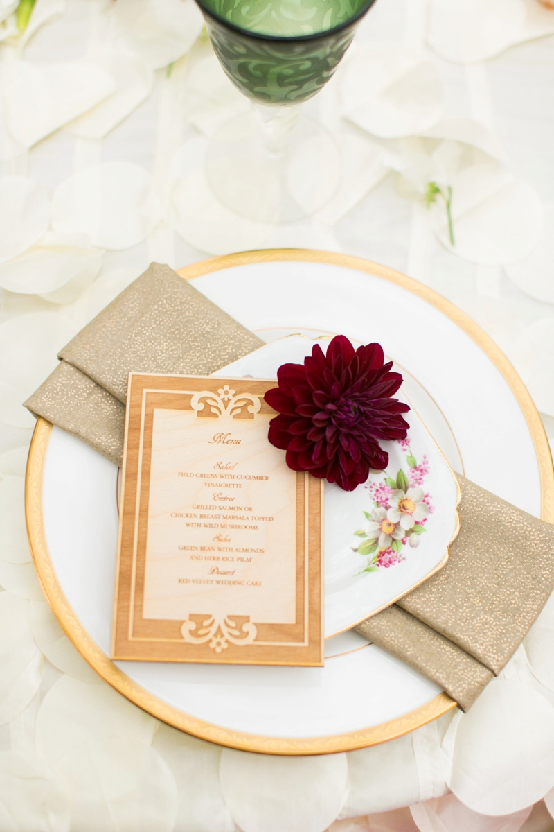 Romantic Garden Wedding Inspiration via TheELD.com