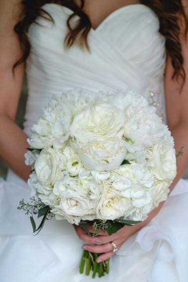 A Purple Rustic Elegant Asheville Wedding via TheELD.com