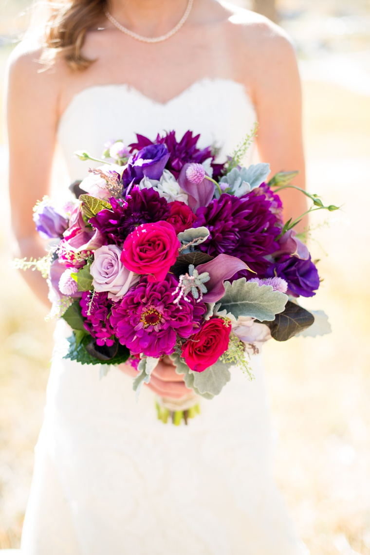 A Rustic Purple Colorado Wedding via TheELD.com