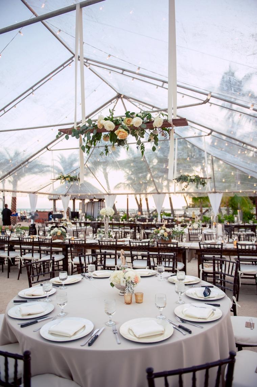 A Romantic Oceanside Wedding In The Keys via TheELD.com