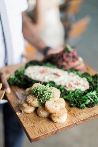 Fun & Eclectic Foodie Wedding Ideas via TheELD.com
