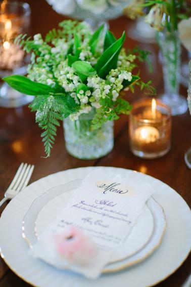 Romantic Woodland Wedding Ideas via TheELD.com