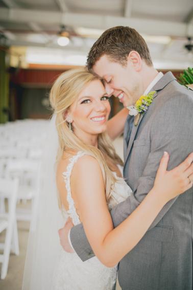 A Rustic Organic Dallas Wedding via TheELD.com