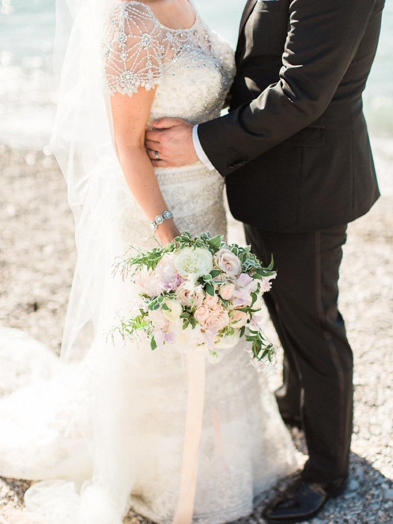 A Blush & Sage Michigan Wedding via TheELD.com