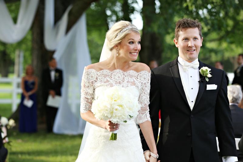 An Elegant Southern Blush Wedding via TheELD.com