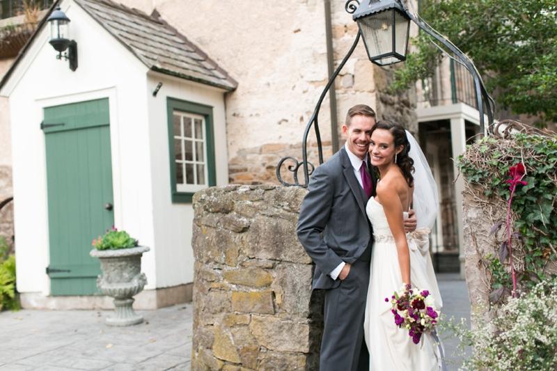 Romantic Berry Inspired Wedding Ideas via TheELD.com