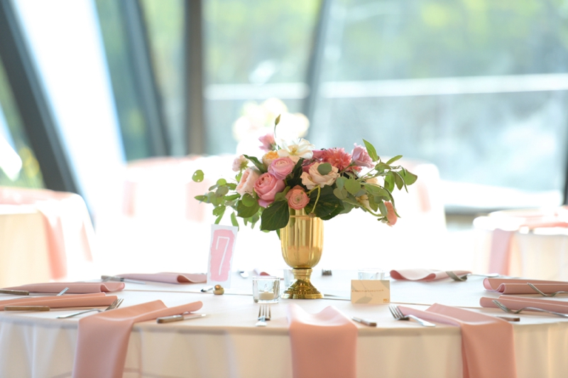 Yellow & Pink Texas Garden Wedding via TheELD.com