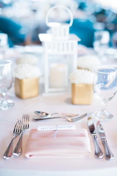 A Nautical Coral and Blue Destination Wedding via TheELD.com