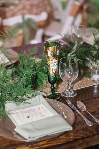 An Elegant Fairytale Inspired Wedding via TheELD.com
