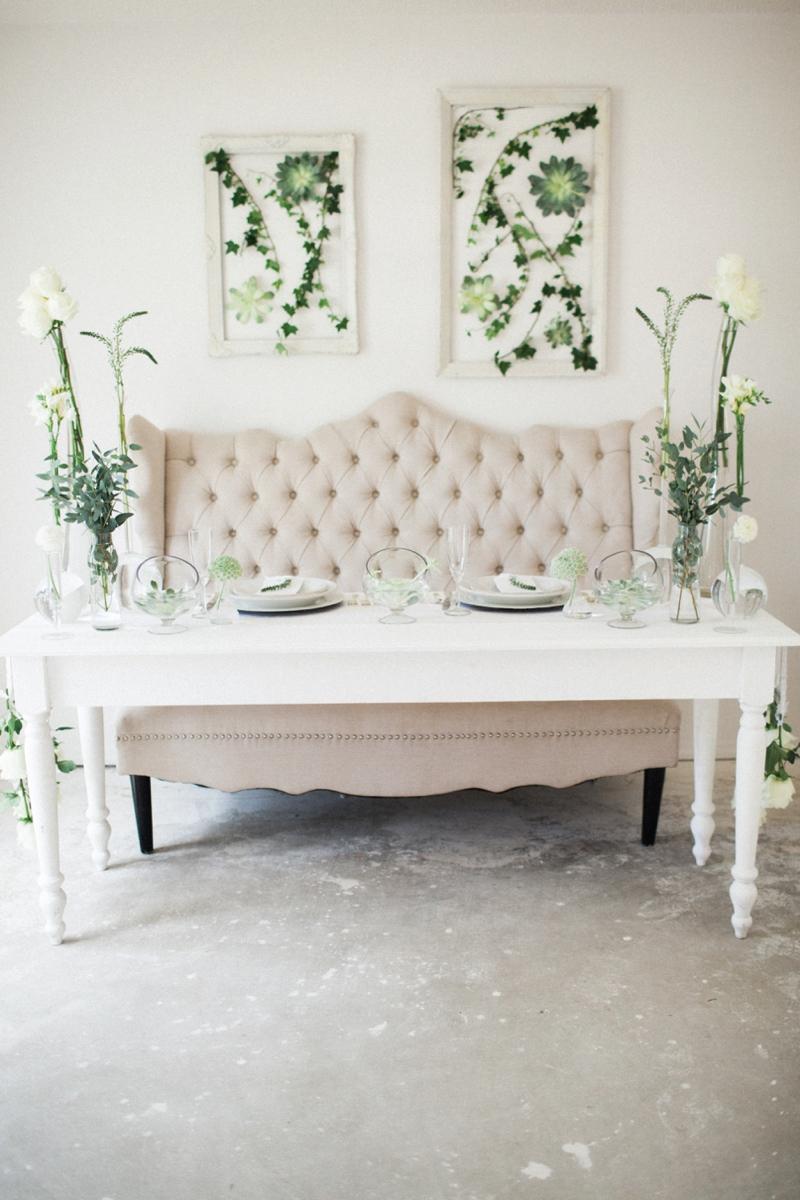 Fresh, Organic and Modern Wedding Ideas via TheELD.com