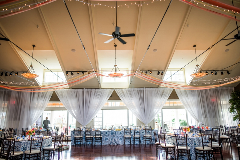 Chic, Eclectic & Colorful Maryland Wedding via TheELD.com