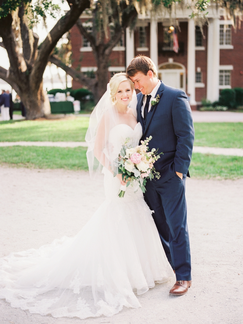 A Blush Old Florida Inspired Wedding via TheELD.com