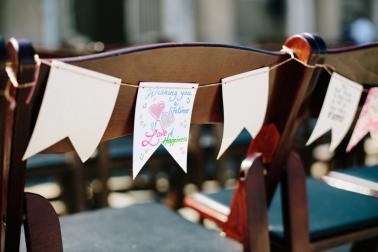 A Romantic Blush and Mint Wedding via TheELD.com
