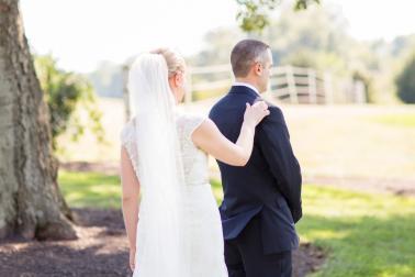 A Classic Navy and Yellow Maryland Wedding via TheELD.com