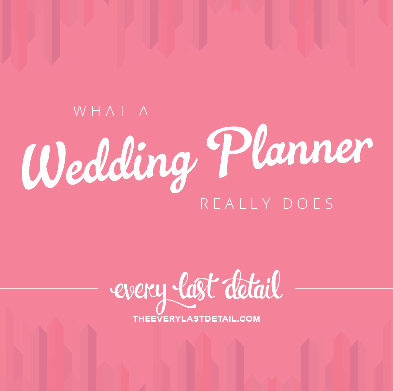 What A Wedding Planner Really Does via TheELD.com