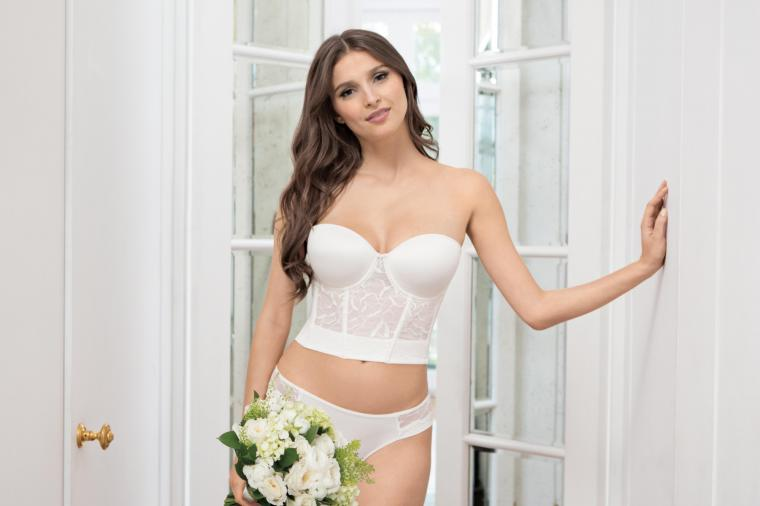 What To Wear Underneath Your Wedding Dress via TheELD.com