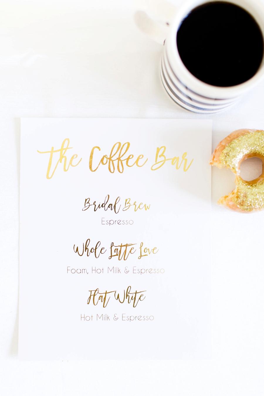 A Kate Spade Inspired Donut Bridesmaid Brunch via TheELD.com