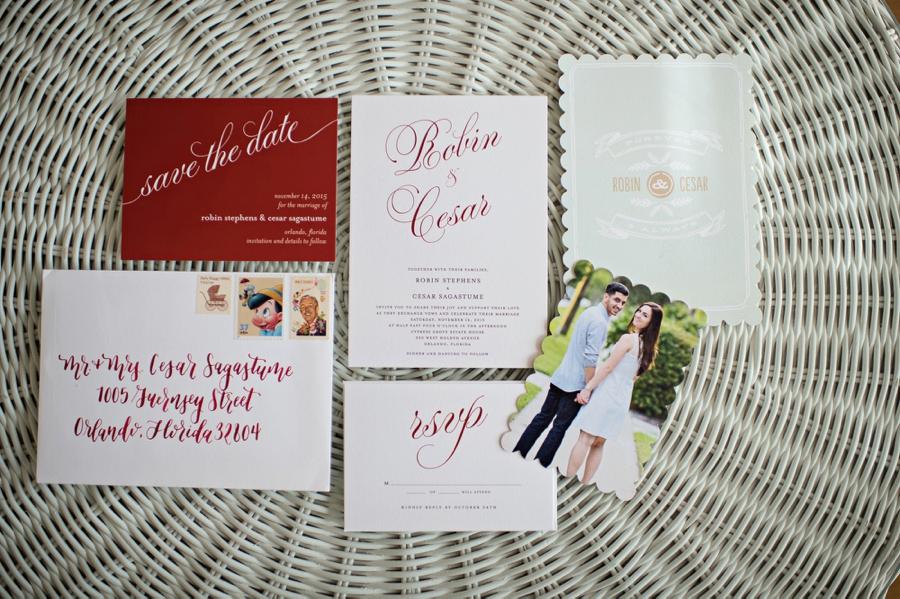 A Rustic & Romantic Red Wedding via TheELD.com