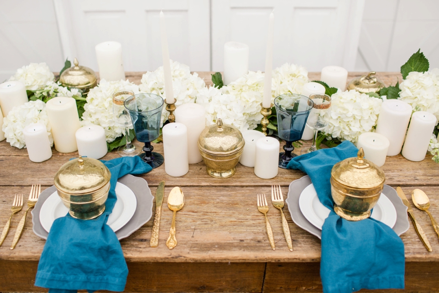 Romantic Teal Blue And White Wedding Ideas Every Last Detail