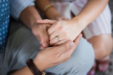 Captured & Engaged: At Home Engagement Photos via TheELD.com