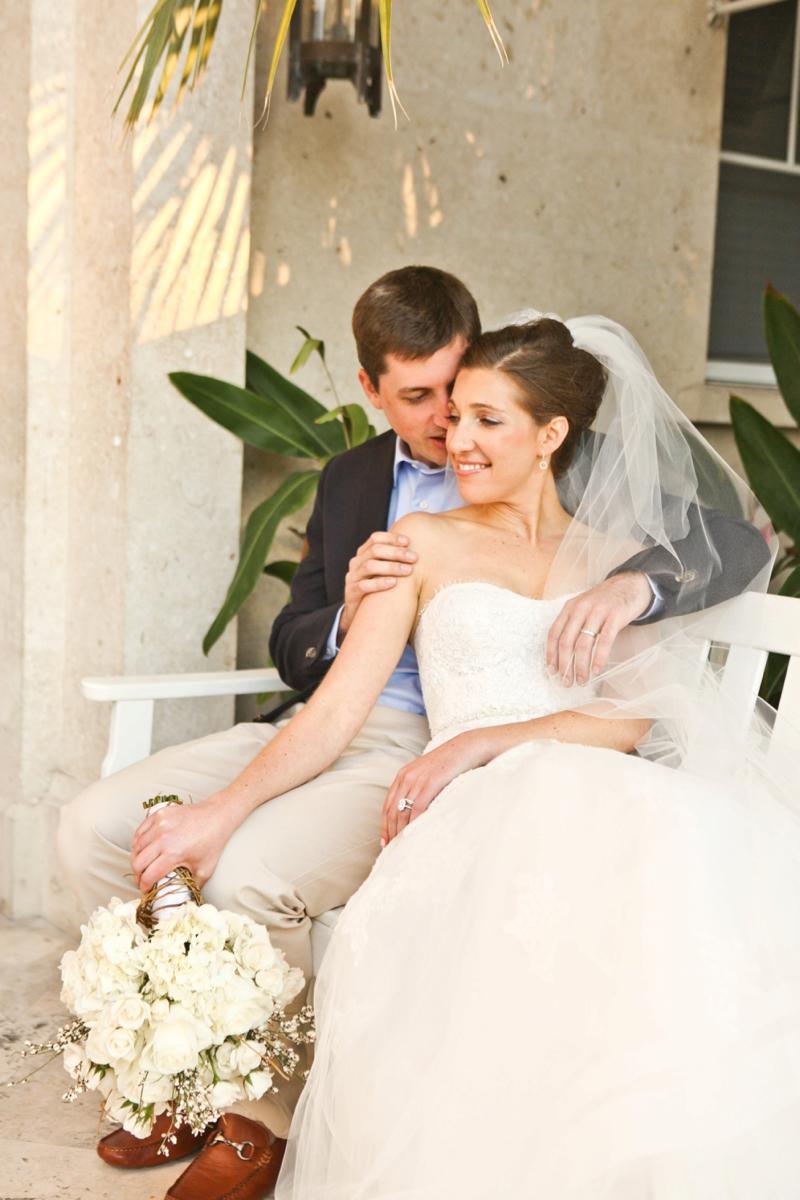 Beach Inspired Florida Destination Wedding via TheELD.com