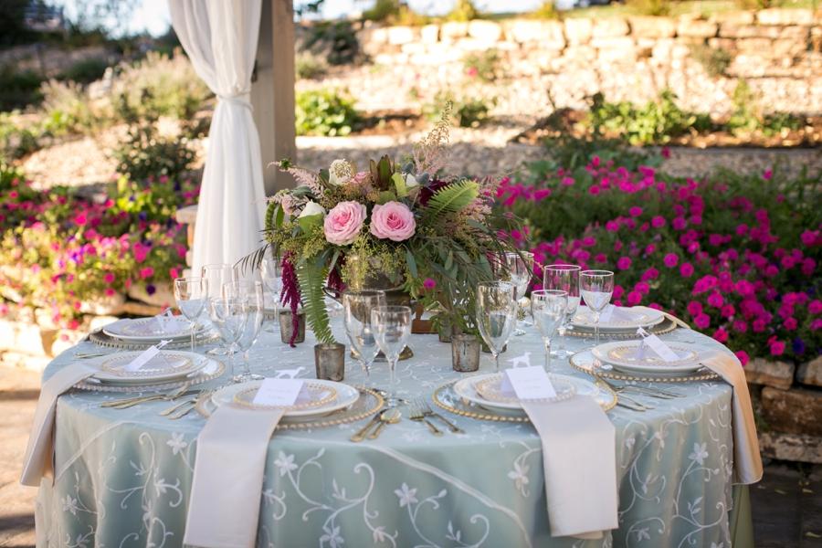 Rustic Elegant Blush and Red Wedding Ideas via TheELD.com