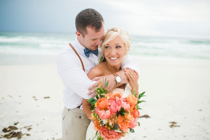 A Boho Chic Santa Rosa Beach Wedding via TheELD.com