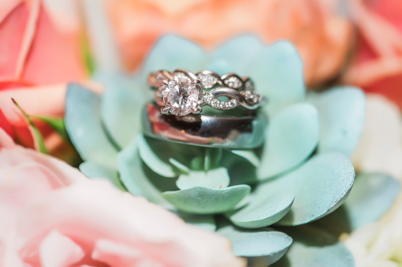 Blush & Mint Southern Inspired Wedding via TheELD.com