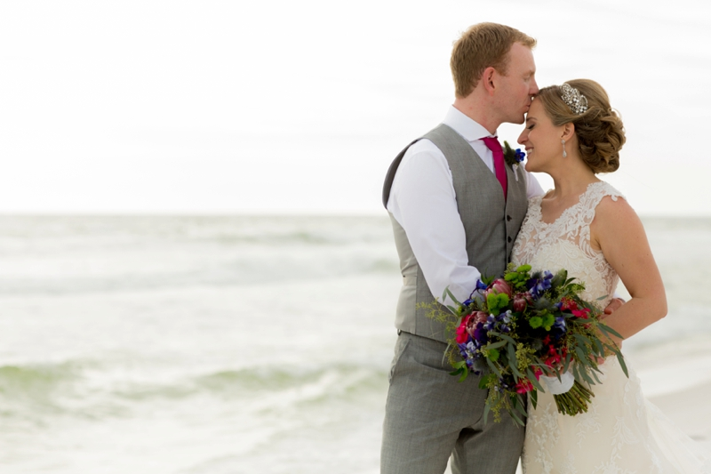 Colorful Florida Destination Wedding via TheELD.com