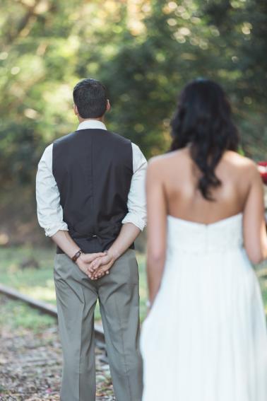Boho Eclectic Jewel Toned Wedding via TheELD.com