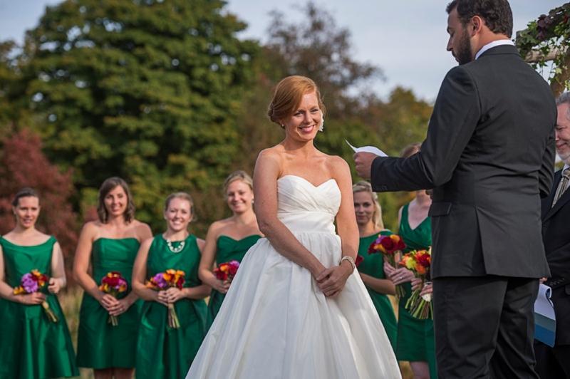 Rustic & Bright Upstate New York Wedding via TheELD.com