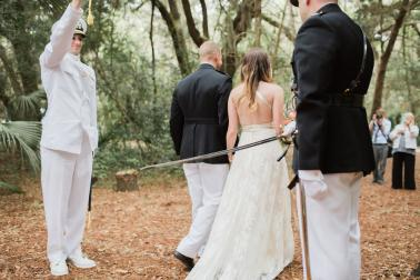 Colorful Rustic Boho Amelia Island Wedding via TheELD.com