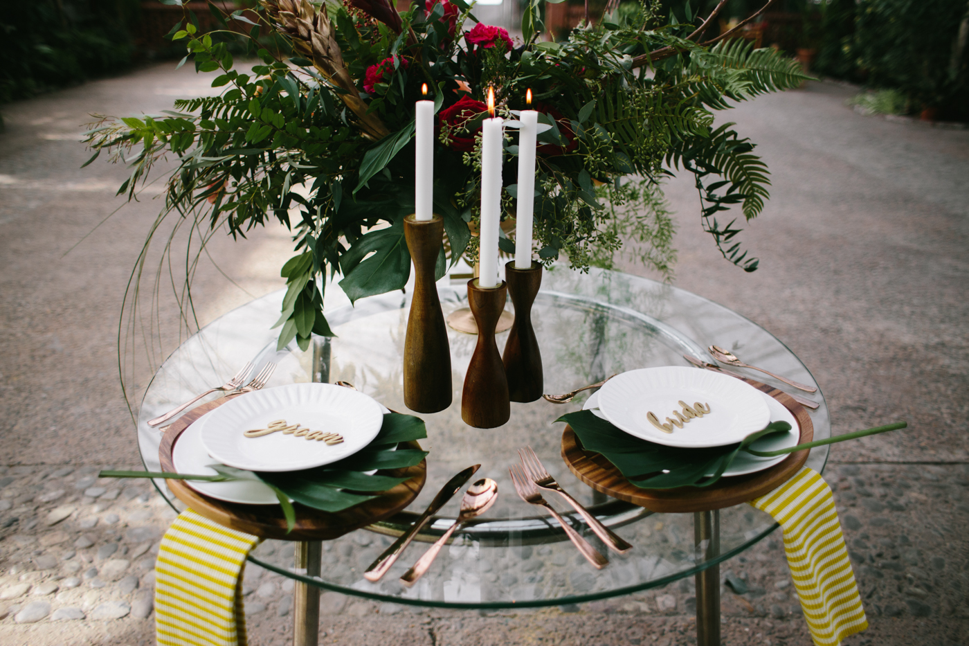 Boho & Tropical Inspired Wedding Ideas via TheELD.com