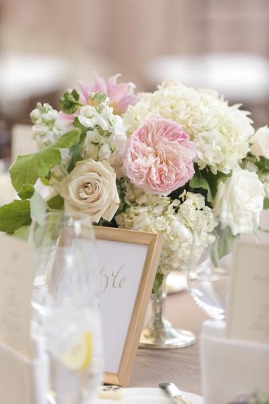 A Romantic Blush & White Park City Wedding via TheELD.com