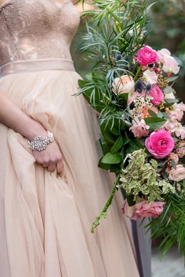 Pink & Purple Southern Glam Wedding Ideas via TheELD.com