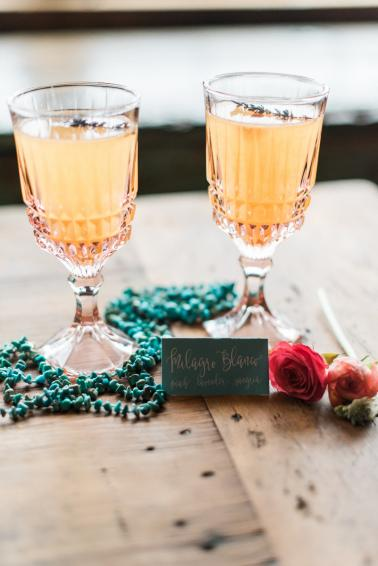 Romantic Arizona Inspired Wedding Ideas via TheELD.com