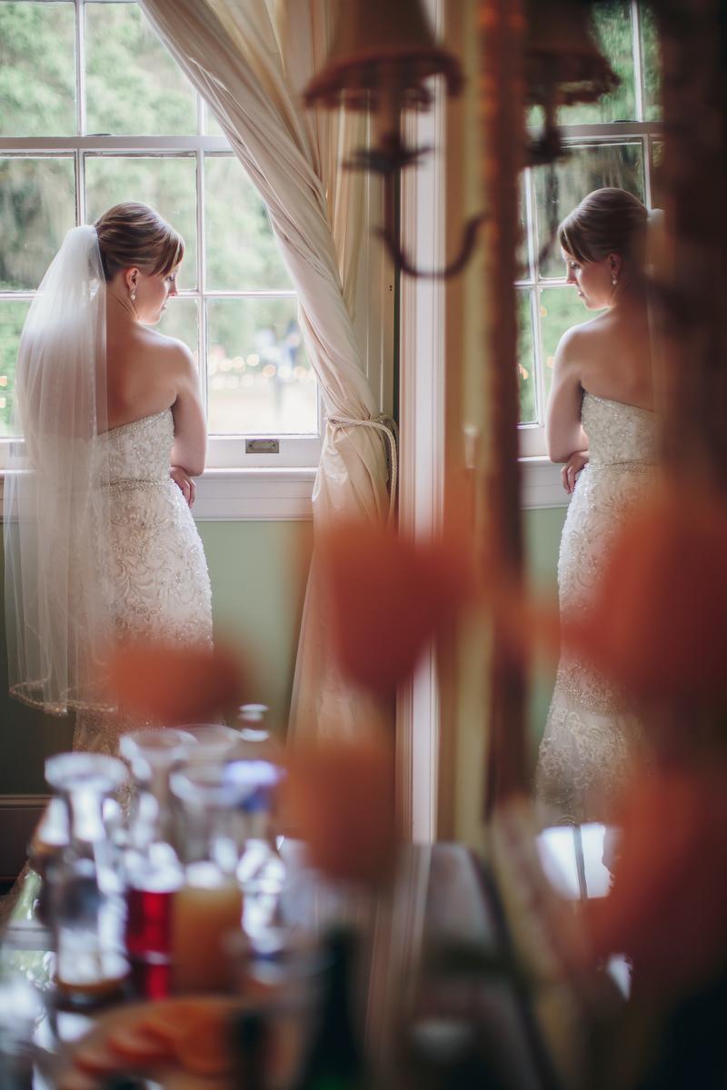 Rustic Romantic Navy and Blush Wedding via TheELD.com