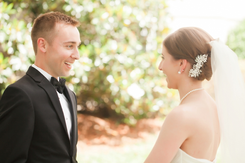 Elegant Black & Gold North Carolina Wedding via TheELD.com