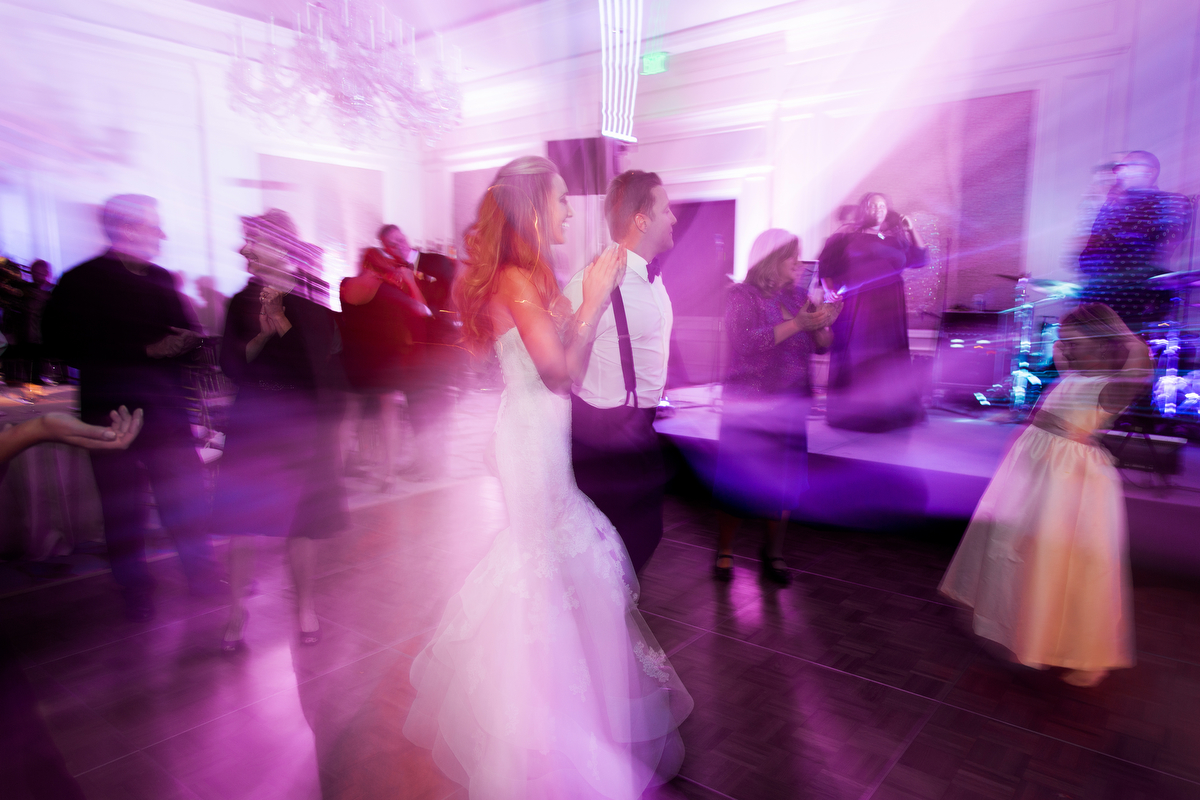 Elegant Purple and Red Amelia Island Wedding via TheELD.com