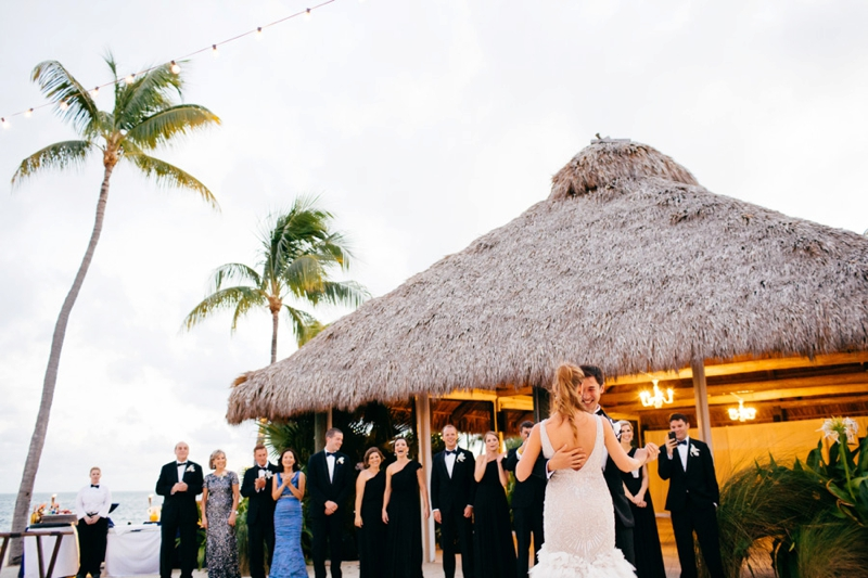 Glamorous Navy & White Islamorada Wedding via TheELD.com