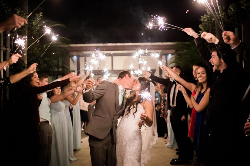 Rustic Elegant Pink & Aqua Florida Wedding via TheELD.com
