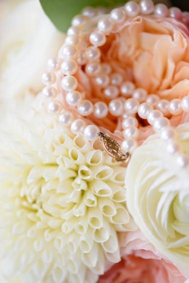 Elegant Peach & Coral St. Pete Wedding via TheELD.com