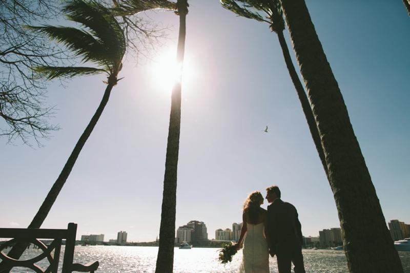 Mint & Bronze West Palm Beach Wedding via TheELD.com