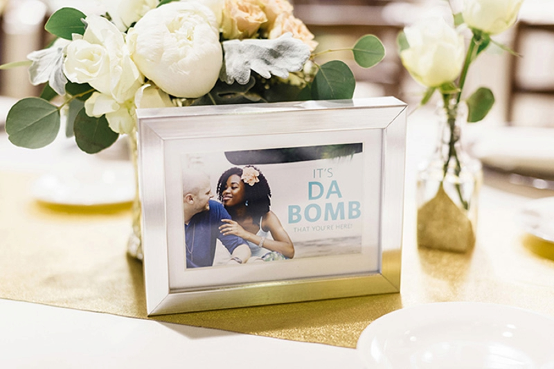Fun & Eclectic 90s Themed Wedding via TheELD.com