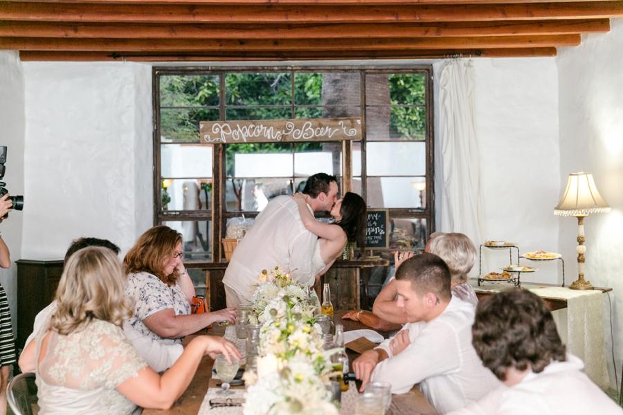 Industrial Chic Palm Springs Wedding via TheELD.com